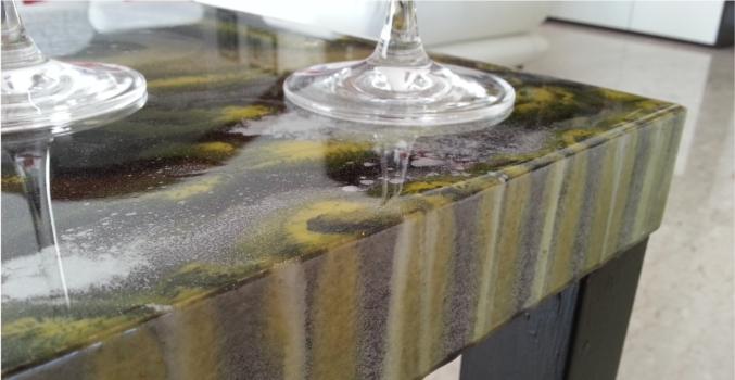 Tavoli in resina vasche in resina mobili in resina arkdeko 39 for Tavolo resina epossidica