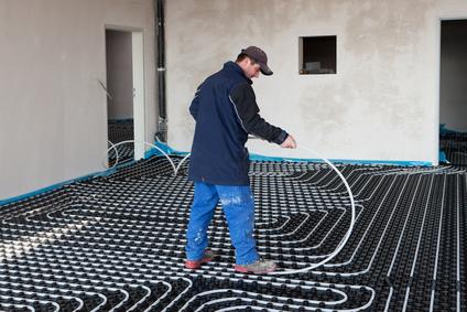 pavimenti in resina su riscaldamento a pavimento