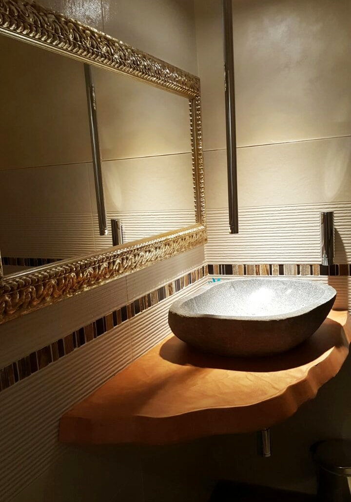 RESINA PER PARETI - Bagno, cucina e doccia